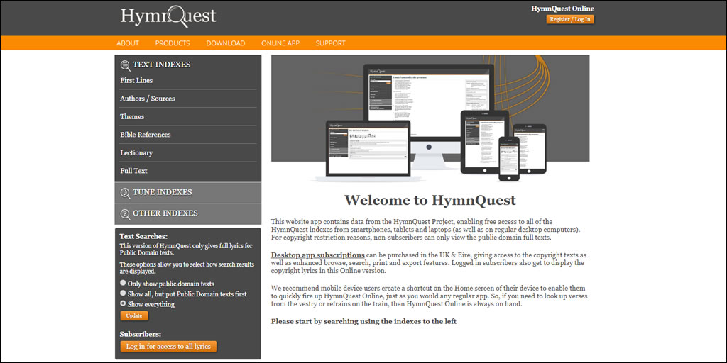 HymnQuest Online Launched